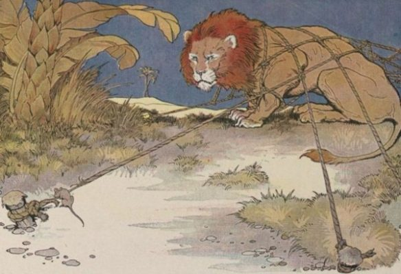 Dictado The Lion and the Mouse