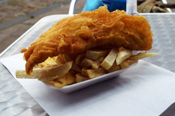 Dictado Fish and chips
