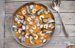 Dictado - Paella de marisco