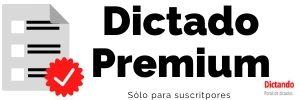 Dictado Premium
